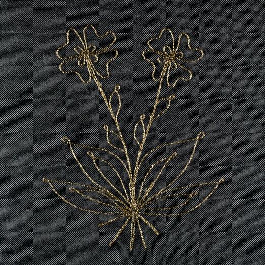 velo coprisalma fiore semplice