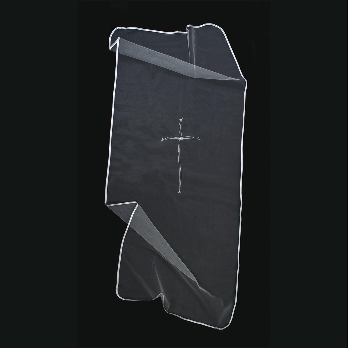 velo coprisalma Velo-croce-semplice